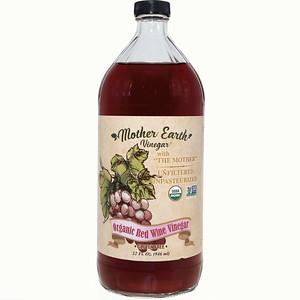MEV Red Wine Vinegar 32 oz front