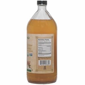 MEV Apple Cider Vinegar 32 oz  sku side