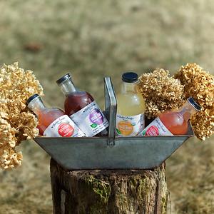 MEV drinks in a metal basket