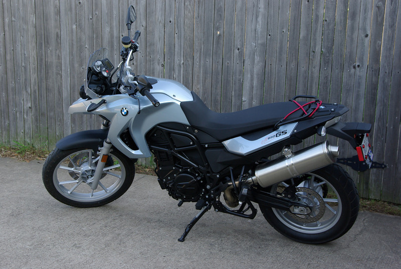 The Ride: 2009 BMW F650GS, 800cc (May 2009)