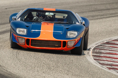 1966 Ford GT40 driven by Alex McAllister