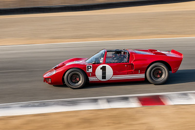 1965 Ford GT40 driven by AC D'Augustine