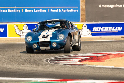 1965 Shelby Cobra Daytona driven by David Swig