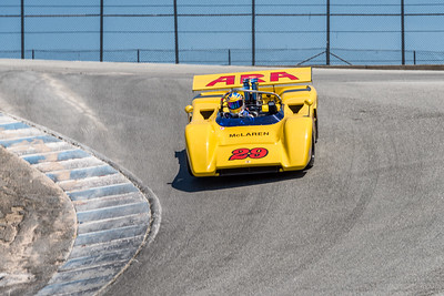 1971 McLaren M8E in the Corkscrew