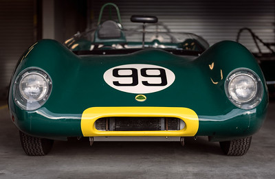 Lotus Eleven at rest