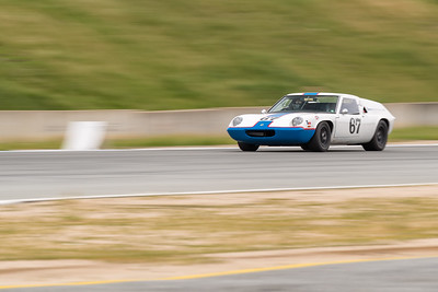 Lotus Europa braking for Turn 11