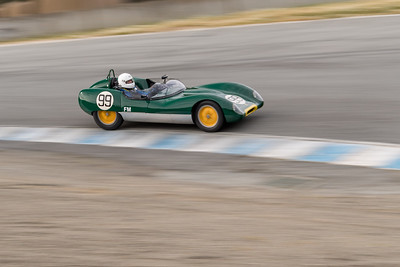 Lotus Eleven at speed