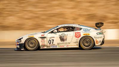 TRG Aston Martin braking for Turn 11