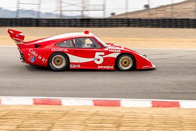 Patrick Long in the 1983 Porsche Fabcar 935