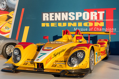 RS Spyder at entry display