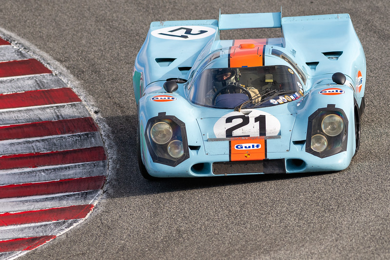 1969 Porsche 917 driven by Chris MacAllister