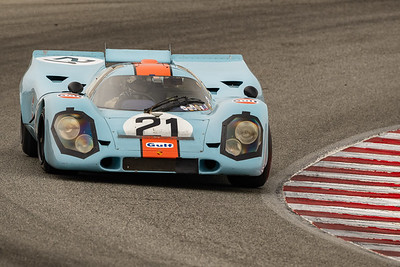1969 Porsche 917K driven by Chris MacAllister