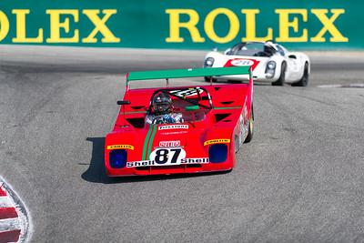 1972 Ferrari 312 PB driven by Greg Galdi