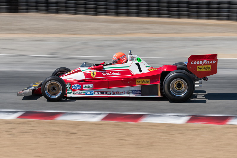 1976 Ferrari 312 T2 driven by Chris MacAllister