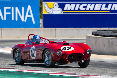 1953 Lancia D24 Sport exiting Turn 11 driven by Greg Whitten