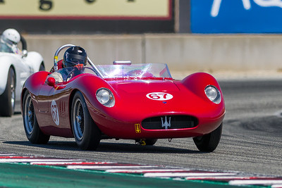 1957 Maserati 200Si driven by Ned Spieker