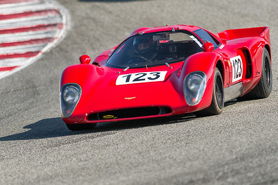 1969 Chevron B16 exiting the Corkscrew drive by Robert Kullas