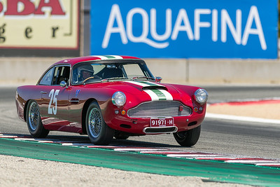1960 Aston Martin DB4 driven by Paul Freestone