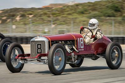 Brian Blain driving the 1916 Romano Sturtevant Special