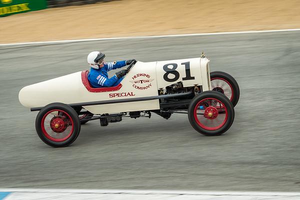 Bruce Hudkins driving the 1922 Ford Model T Speedster