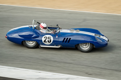 Erickson Shirley driving the 1959 Lister Costin