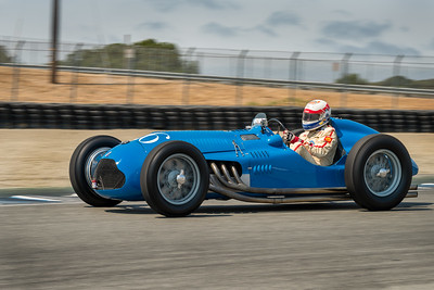 Hans Hugenholtz driving the 1950 Talbot T26C