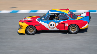 Dean Desantis driving the 1973 BMW CSL