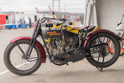 100-year old Harley Davidson w/ suicide shifter