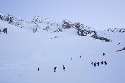 Avalanche Gulch and Red Banks