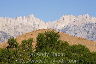 Mt Whitney, from Lone Pine