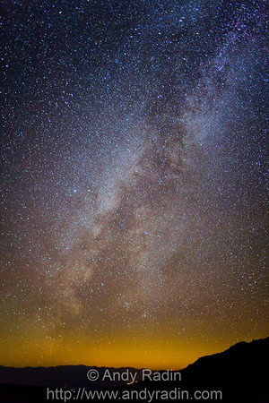 The Milky Way, from 11,630 feet elevation on White Mountain Peak
