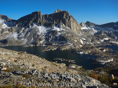 Dusy Basin, off-trail and hard going