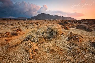 thrypti mountain range, crete, greece