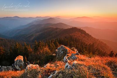 klak, velka fatra mountain range, slovakia