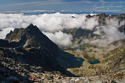 mengusovska dolina, vysoke tatry mountain range, slovakia