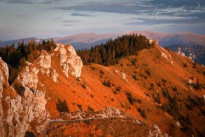 ostra, velka fatra mountain range, slovakia