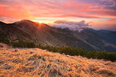 chleb mountain, mala fatra mountain range, slovakia