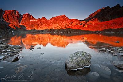 velka studena dolina, vysoke tatry mountain range, slovakia