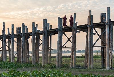 U Bein Bridge, Amarapura