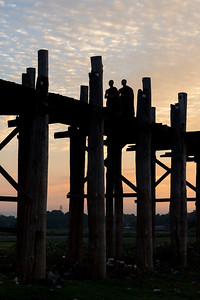 U Bein Bridge, Amarapura