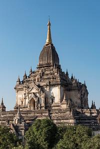 Gawdawpalin temple, Bagan, Myanmar - Burma