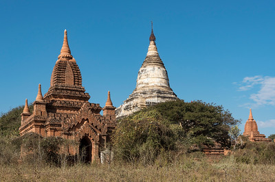 Shwesandaw Pagoda, Bagan, Burma