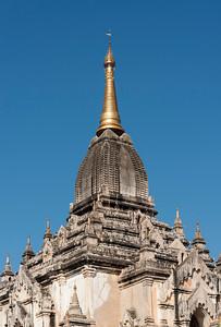 Thatbyinnyu Paya - That Byin Nyu Temple, Old Bagan, Myanmar - Burma