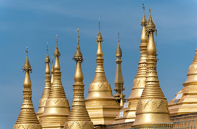 Shwemawdaw Pagoda (Golden God Temple) in Bago, Myanmar (Burma)