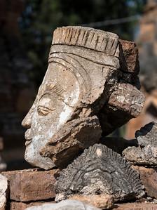 Remains of Deva Statue