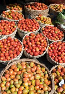 Street market in Mandalay, Burma - Myanmar