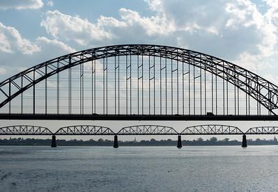Irrawaddy (Yadanabon) Bridge, Mandalay, Burma (Myanmar)