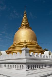 Aung Theikdi Zedi Pagoda in Mawlamyine (Mawlamyaing), Mon State, Burma (Myanmar)