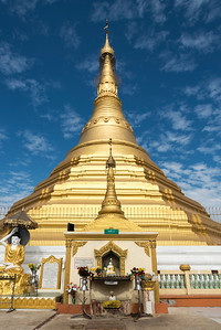 Uzina Pagoda (U Zina Paya) in Mawlamyine (Mawlamyaing), Mon State, Burma (Myanmar)