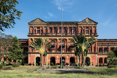 Abandoned Ministers' Building (formerly The Secretariat), Yangon (Rangoon), Burma (Myanmar)